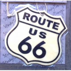 désodorisant route 66 logo...