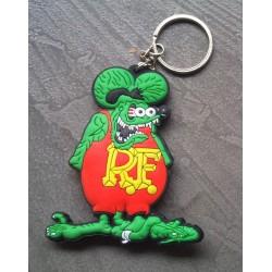 porte clé rat fink vert...