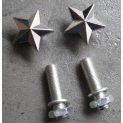 fixation de plaque étoile...