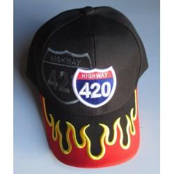 casquette highway 420 noir...