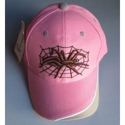 casquette  rose spider...