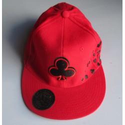 casquette hip hop rouge as...