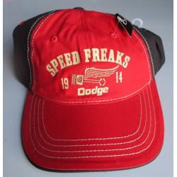 casquette dodge rouge...