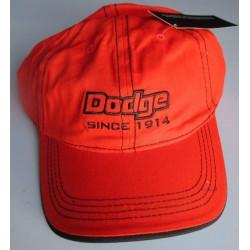 casquette dodge orange...
