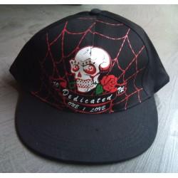casquette noir rockabilly...