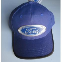 casquette ford bleu logo...