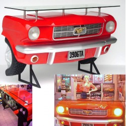 bar ford mustang rouge 3d...