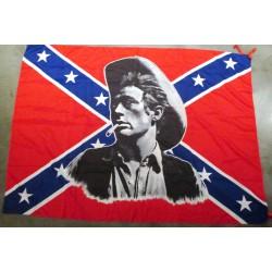 drapeau rebel james dean...