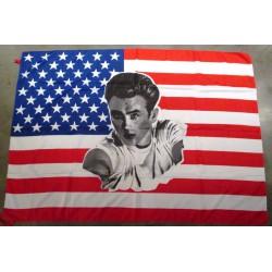 drapeau usa james dean flag...