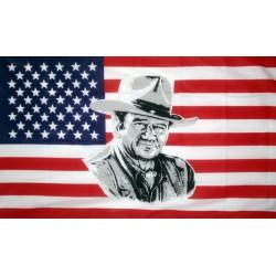 drapeau usa john wayne...