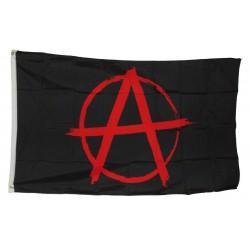 drapeau anarchy noir logo...