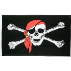 drapeau pirate avec bandana...