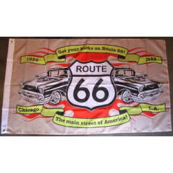 drapeau route 66 et...