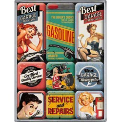lot 9 magnet pin up best...