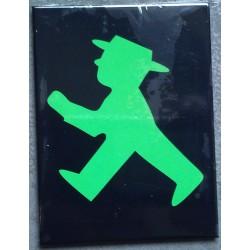 magnet 6x8cm homme vert...