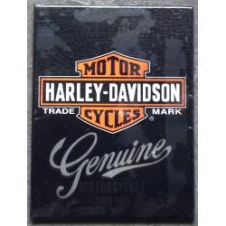 magnet 6x8cm harley...