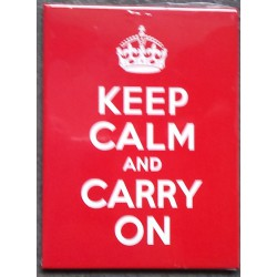 magnet 6x8cm keep calm and...