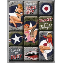 lot 9 magnet pin up...