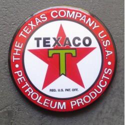 magnet texaco logo rouge...