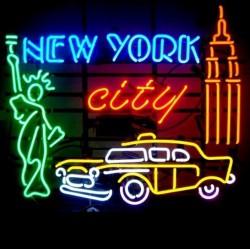 néon publicitaire new york...