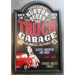 ardoise truck pick up deco...
