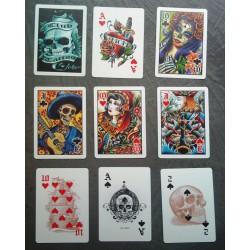 jeux de 54 carte tattoo...