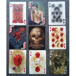 jeux de 54 carte alchemy...
