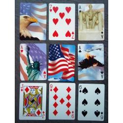 jeux de 54 carte america...