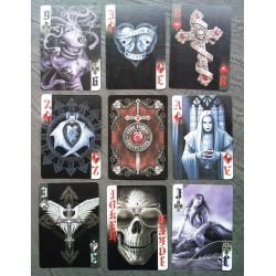 jeux de 54 carte dark heart...