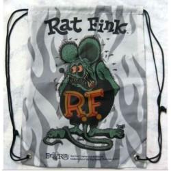 sac rat fink vert à flammes...