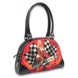 nouveau concept c9f02 e5d0a petit sac a main liquor brand queen of speed pin up rockab
