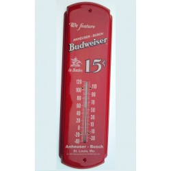 thermometre budweiser rouge...