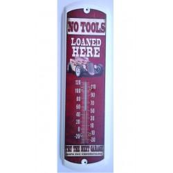 thermometre hot rod blanc a...