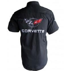 chemise corvette chevrolet...