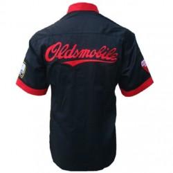 chemise oldsmobile noir et...