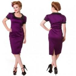 robe pin up violette et...