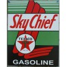 plaque texaco sky chief afficeh tole deco metal garage usa