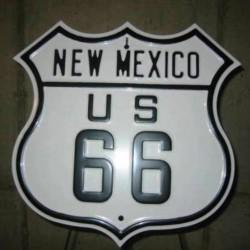 plaque route 66 blason new...