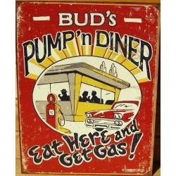 plaque bud's pump & diner...
