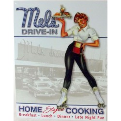 plaque mels drive in pin up...