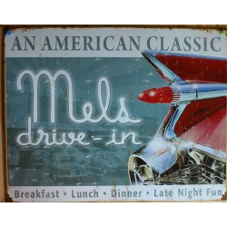 plaque mels drive in...