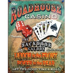plaque roadhouse casino...