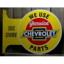 plaque chevy parts double...