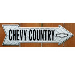 plaque chevrolet country...