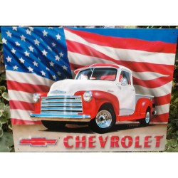 plaque pick up chevrolet et...
