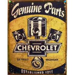 plaque chevrolet piston...
