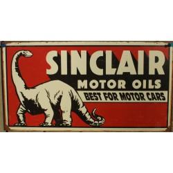 plaque sinclair motor oils...