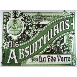 plaque absinthians la fée...