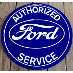 plaque ford authorized...