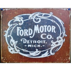 plaque ford motor company...
